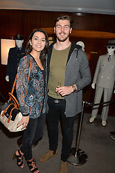 JOHNNIE WILLIAMS and HANNAH MITCHELL JOHNNY WILLIAMS and HANNAH MITCHELL JOHNNY WILLIAMS and HANNAH MITCHELL at a screening of Paramount Pictures 'Allied' hosted by Rosie Nixon of Hello! Magazine at The Bulgari Hotel, 171 Knightsbridge, London on 23rd November 2016.