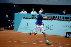 May 6, 2019 - Madrid, Spain - Andreas Seppi (ITA) in his match against GaÃ«l Monfils (FRA) during day three of the Mutua Madrid Open at La Caja Magica in Madrid on 6th May, 2019. (Credit Image: © Juan Carlos Lucas/NurPhoto via ZUMA Press)