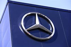 February 18, 2019 - Barcelona, Barcelona, Spain - Mercedes AMG Petronas Motorsport W10 logo during the Formula 1 2019 Pre-Season Tests at Circuit de Barcelona - Catalunya in Montmelo, Spain on February 18. (Credit Image: © Xavier Bonilla/NurPhoto via ZUMA Press)