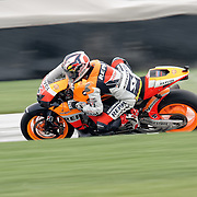 August 8, 2009, Andrea Dovizioso practices during Free Practice 1 at the Red Bull Indianapolis Grand Prix.
