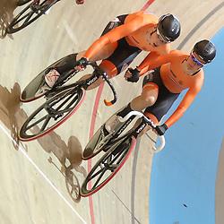 03-03-2018: Wielrennen: WK Baan: Apeldoorn<br />Zilver op de madison voor Kirsten Wild en Amy Pieters