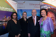 21/1/16  US Ambassador Kevin O'Malley at the Ethiopian Airlines stand at the Holiday World Show in the RDS in Dublin. Picture: Arthur Carron