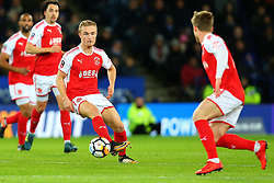 Kyle Dempsey of Fleetwood Town - Mandatory by-line: Robbie Stephenson/JMP - 16/01/2018 - FOOTBALL - King Power Stadium - Leicester, England - Leicester City v Fleetwood Town - Emirates FA Cup third round proper