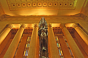 30th Street Amtrak Station, Angel of the Resurrection, WWII Memorial Bronze Sculpture, Philadelphia, PA