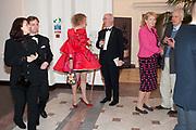 IAN PALMER; MONIQUE PALMER; GRAYSON PERRY; CHARLES SAUMERAZ SMITH; INGEBORG SCOTT; SIR PHILIP DOWSON,, Royal Academy Schools Annual dinner and Auction 2012. Royal Academy. Burlington Gdns. London. 20 ,March 2012.