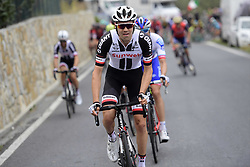 March 18, 2017 - San Remo, Italie - SANREMO, ITALY - MARCH 18 : DUMOULIN Tom (NED) Rider of Team Sunweb in action during the UCI WorldTour 108th Milan - Sanremo cycling race with start in Milan and finish at the Via Roma in Sanremo on March 18, 2017 in Sanremo, Italy, 18/03/2017  (Credit Image: © Panoramic via ZUMA Press)