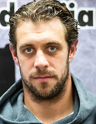 Anze Kopitar during press conference after the practice at Hockey Academy of Anze Kopitar and Tomaz Razingar, on July 9, 2019 in Ice Hockey arena Bled, Slovenia. Photo by Vid Ponikvar / Sportida