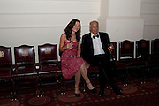 JACKIE WIGGLESWORTH; TOM MASCHELER, The 2009 Booker Prize dinner. Guildhall. London. 6 October 2009