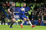 Chelsea Forward Gonzalo Higuain on loan from Juventus attacks the goal during the The FA Cup fourth round match between Chelsea and Sheffield Wednesday at Stamford Bridge, London, England on 27 January 2019.