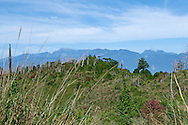Snow Mountiain and Dabajianshan in the distance..Jialuo Lake, May, 2013