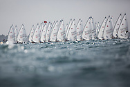 The 2015 Laser Women's Radial World Championship. Mussanah. Oman. November 18-26 November. Day 4 of racing - <br /> Image licensed to Lloyd Images