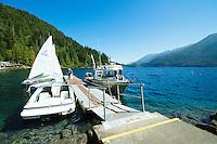 Log Cabin Resort, Lake Crescent. Olympic National Park, WA