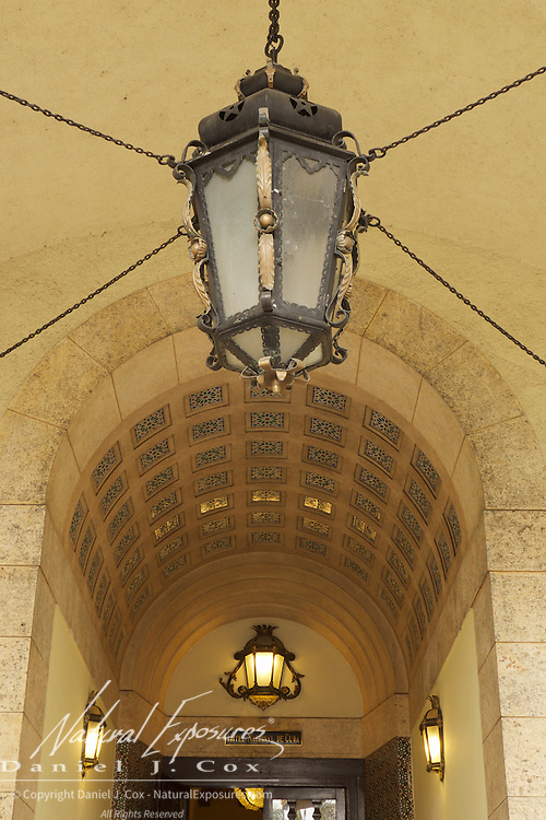 Entrance to the National Hotel of Cuba. Havana.