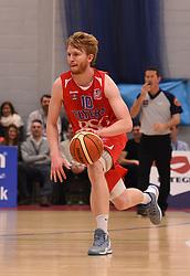 Mathias Seilund of Bristol Flyers - Photo mandatory by-line: Paul Knight/JMP - Mobile: 07966 386802 - 30/01/2016 - BASKETBALL - SGS Wise Arena - Bristol, England - Bristol Flyers v Leeds Force - British Basketball League