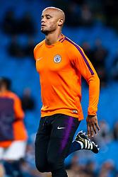 Vincent Kompany of Manchester City - Mandatory by-line: Robbie Stephenson/JMP - 19/09/2018 - FOOTBALL - Etihad Stadium - Manchester, England - Manchester City v Lyon - UEFA Champions League Group F