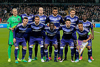team picture Anderlecht  pictured pictured during  UEFA Europa League quarter final first leg match between Rsc Anderlecht and Manchester United 13/04/2017. <br /> Norway only<br /> lagbilde
