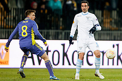 Stefano Mauri #6 of S.S. Lazio during football match between NK Maribor and S. S. Lazio Roma  (ITA) in 6th Round of Group Stage of UEFA Europa league 2013, on December 6, 2012 in Stadium Ljudski vrt, Maribor, Slovenia. (photo by Urban Urbanc / Sportida.com)