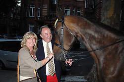 SIR DAI LLEWELLYN and INGRID SEWARD at a party to celebrate the 21st birthday of one of their horses Leopold, held at 35 Sloane Gardens, London W1 on 10th September 2007.<br /><br />NON EXCLUSIVE - WORLD RIGHTS