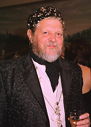 The MARQUESS OF BATH at a dinner in London on 29th September 1998.<br /> MKJ 12
