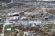 Destruction from Hurricane Dorian at Marsh Harbour in Great Abaco Island, Bahamas on Wednesday, September 4, 2019