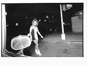West side, near west side highway in the twentier Sunday 11pm, 7th June 1992, New York© Copyright Photograph by Dafydd Jones 66 Stockwell Park Rd. London SW9 0DA Tel 020 7733 0108 www.dafjones.com