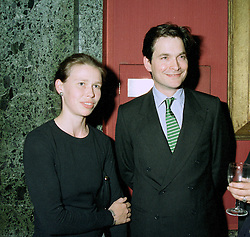 LADY SARAH & MR DANIEL CHATTO she is the daughter of Princess Margaret, at a reception in London on 21st July 1997.MAN 101 2OLO