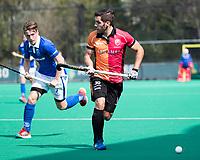 ROTTERDAM -  Augustin Mazzilli (Oranje-Rood) tijdens de wedstrijd om de derde plaats , Kampong- Oranje Rood , bij de ABN AMRO cup. COPYRIGHT KOEN SUYK