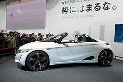 Honda S660 concept vehicle at Tokyo Motor Show 2013 in Japan
