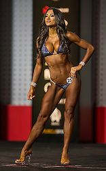 Sept.16, 2016 - Las Vegas, Nevada, U.S. -  JANET LAYUG competes in the Bikini Olympia contest during Joe Weider's Olympia Fitness and Performance Weekend.(Credit Image: © Brian Cahn via ZUMA Wire)