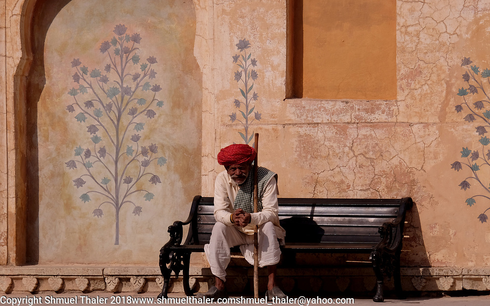 Amber Palace, Jaipur, India.<br /> Photo by Shmuel Thaler <br /> shmuel_thaler@yahoo.com www.shmuelthaler.com