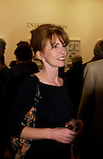 Jane Asher, Gerald Scarfe exhibition and book launch, National Portrait Gallery, 29 September 2003.© Copyright Photograph by Dafydd Jones 66 Stockwell Park Rd. London SW9 0DA Tel 020 7733 0108 www.dafjones.com