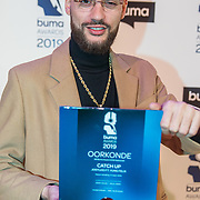 NLD/Hilversum/20190311  - Uitreiking Buma Awards 2019, Josylvio wint een award