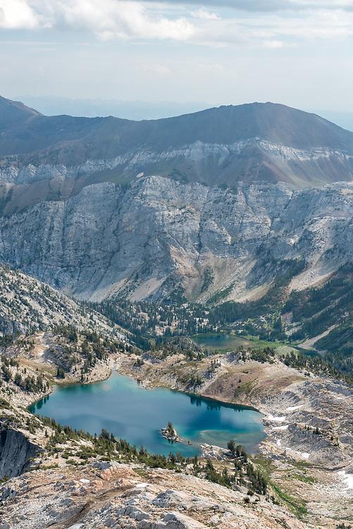 Subalpine lake in Oregon's Wallowa Mountains.