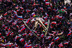 Peter Prevc (SLO) during the Ski Flying Hill Team Competition at Day 3 of FIS Ski Jumping World Cup Final 2016, on March 19, 2016 in Planica, Slovenia. Photo by Grega Valancic / Sportida