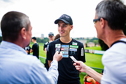 Timi Zajc during interview after practice session of Slovenian national Ski Jumping team on 18 August, 2020, in Kranj, Slovenia.  Photo by Grega Valancic / Sportida