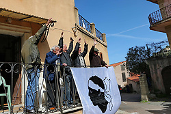 April 7, 2018 - Corse, France - CORSICA Linea - TOUR DE CORSE 2018 Illustration village de Novella (Credit Image: © Panoramic via ZUMA Press)