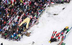 05.02.2017, Heini Klopfer Skiflugschanze, Oberstdorf, GER, FIS Weltcup Ski Sprung, Oberstdorf, Skifliegen, im Bild Manuel Fettner (AUT) // Manuel Fettner of Austria during mens FIS Ski Flying World Cup at the Heini Klopfer Skiflugschanze in Oberstdorf, Germany on 2017/02/05. EXPA Pictures © 2017, PhotoCredit: EXPA/ Peter Rinderer