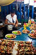 Carnival food in Gibara, Holguin, Cuba.