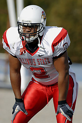 25 November 2006: Rafael Rice.&#xD;The Redbirds romped the Panthers by a score of 24-13.&#xD;This game was a 1st round NCAA Division 1 Playoff held at O'Brien Stadium on the campus of Eastern Illinois University in Charleston Illinois.<br />