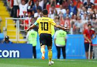 Eden Hazard (Belgium) celebrates after the goal scored<br /> Moscow 23-06-2018 Football FIFA World Cup Russia  2018 <br /> Belgium - Tunisia / Belgio - Tunisia <br /> Foto Matteo Ciambelli/Insidefoto