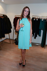 ALEX PAKENHAM at a preview evening of the Leon Max Autumn Winter Collection 2013 held at Leon Max, 229 Westbourne Grove, London W11 on 24th September 2013.