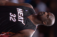 Copyright David Richard<br /> Shaquille O'Neal of the Miami Heat