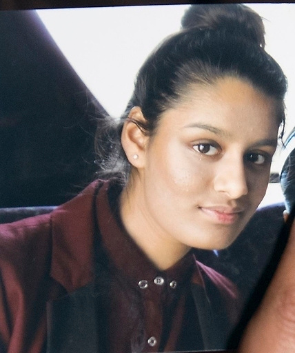 Undated file photo of Shamima Begum, 15, who fled the UK to join the Islamic State terror group in Syria aged 15, and has been stripped of her British citizenship by the Home Office.