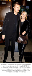 Actress LESLEY ASH and her husband LEE CHAPMAN, at a party in London on 23rd July 2002.	PCH 58