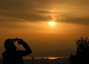 Capture the light!!!<br /> <br /> View from Filopappou Hill.
