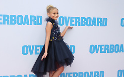 Overboard Premiere at The Regency Village Theatre in Westwood, California on 4/30/18. 30 Apr 2018 Pictured: Alyvia Alyn Lind. Photo credit: River / MEGA TheMegaAgency.com +1 888 505 6342