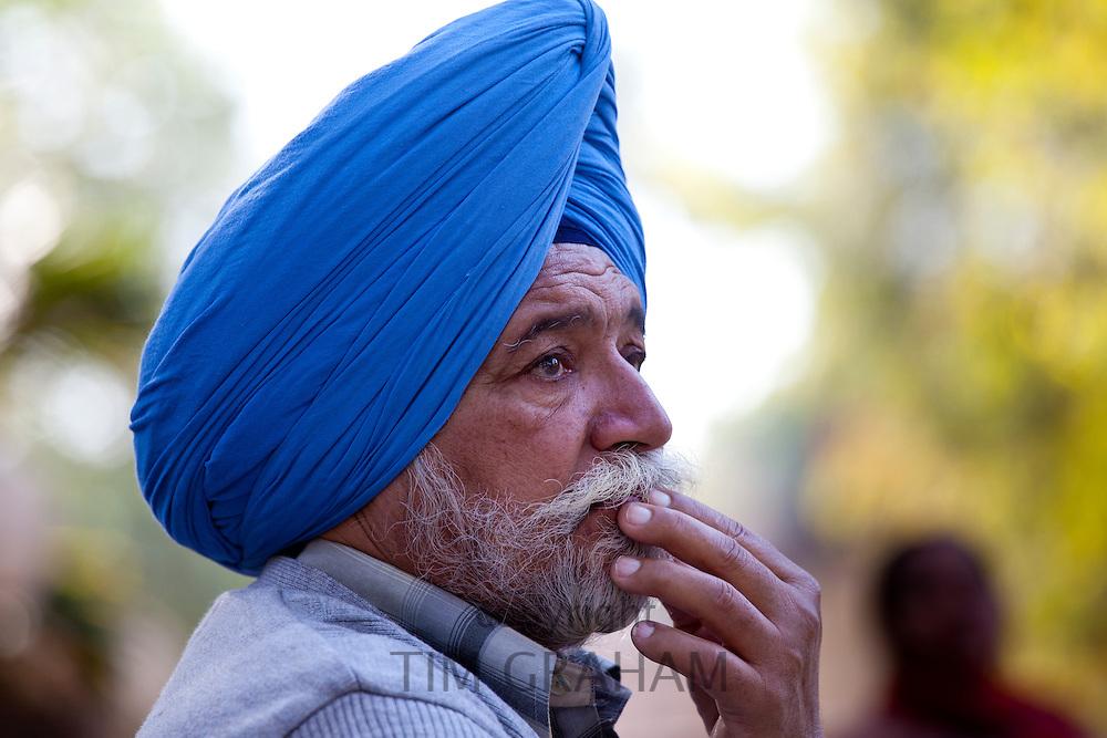 Sikh Man in New Delhi, India