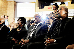 Dec. 8, 2013 - Dec. 8, 2013 - A prayer for Nelson Mandela in Bryanston Methodist church, Johannesburg, South Africa. Mandela's ex-wife Winnie Mandela, South African president Jacob Zuma and Nelson Mandela's grand child Mandla Mandela. 8 Dec 2013 (Credit Image: © Bardell Andreas/Aftonbladet/IBL/ZUMAPRESS.com)