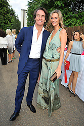 TIM & MALIN JEFFERIES at the annual Serpentine Gallery Summer Party sponsored by Canvas TV  the new global arts TV network, held at the Serpentine Gallery, Kensington Gardens, London on 9th July 2009.