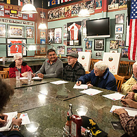 Members of the McKinley County Republican Party at  the group's Biennial County Convention, Thursday, Jan. 10 at Sammy C's in Gallup. New officers were elected at last night's meeting.